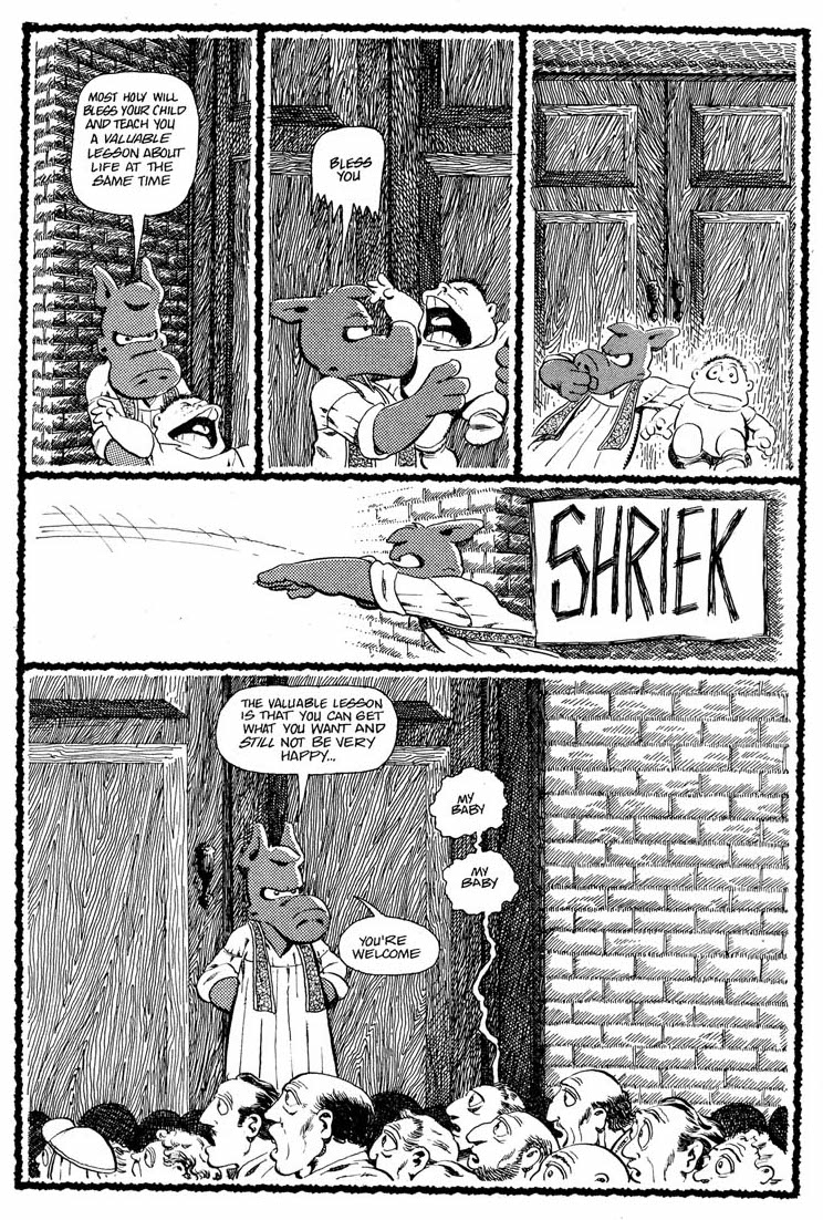 Cerebus 66 - baby throw 2
