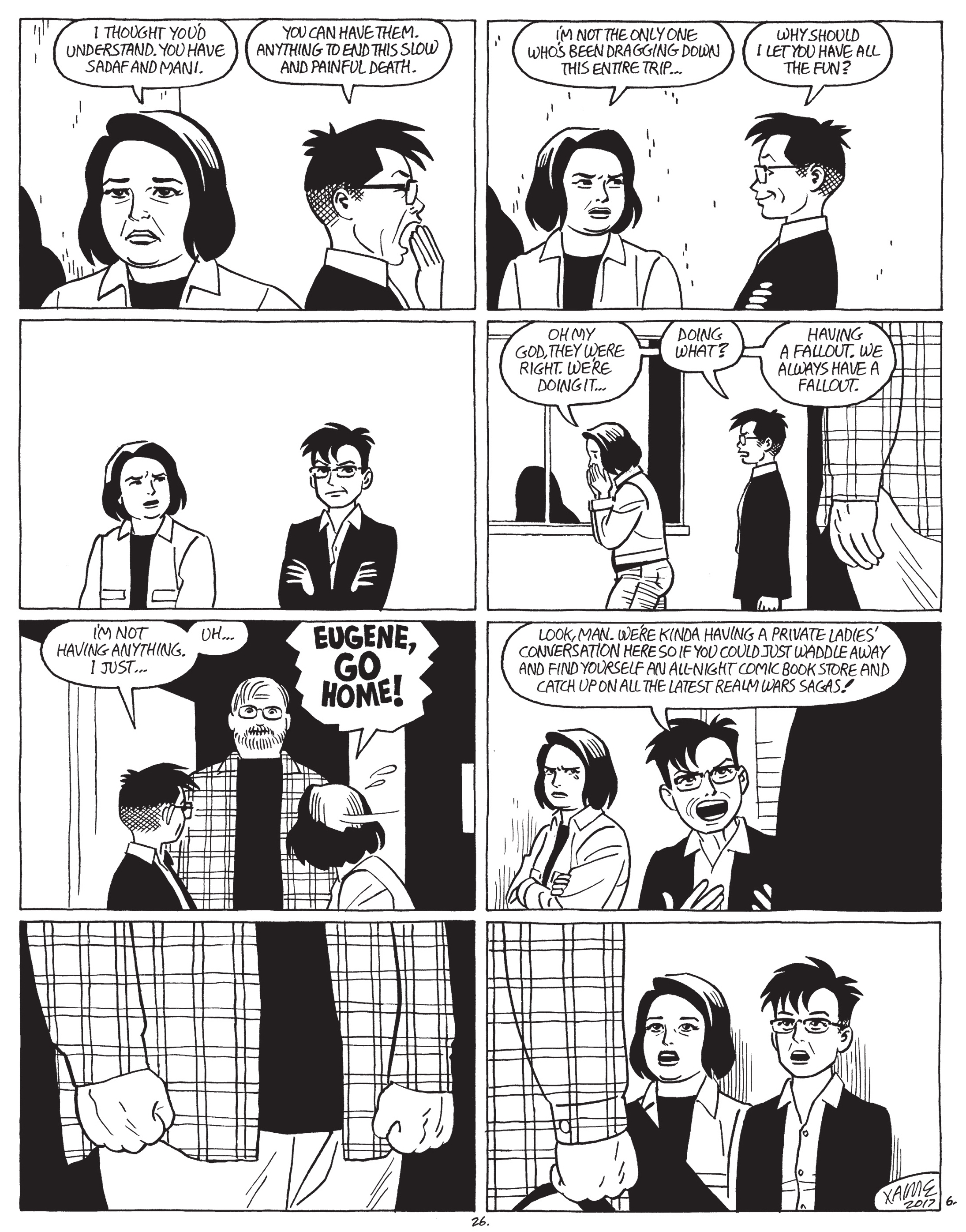 Love and Rockets v4 - Maggie and Hopey