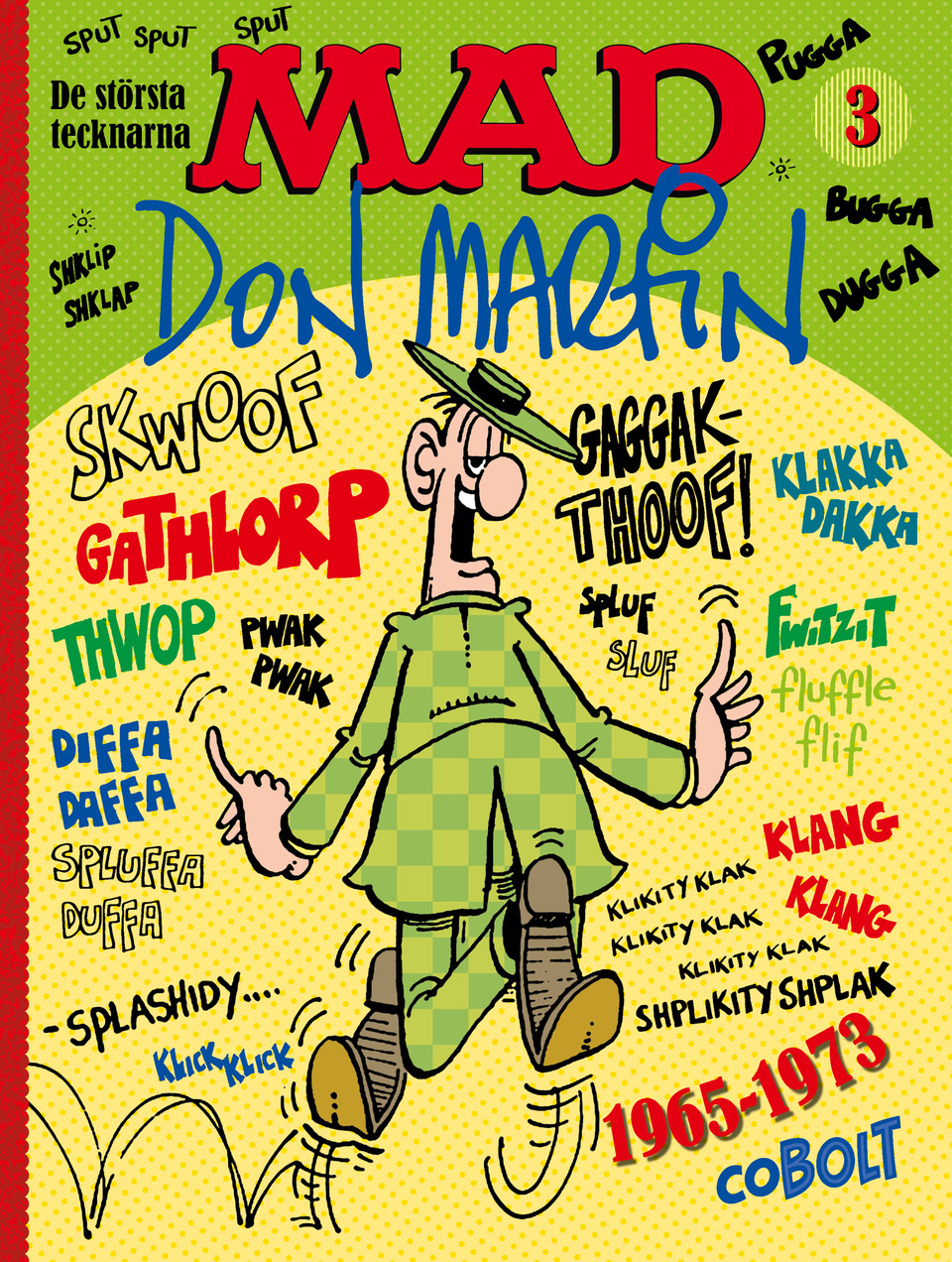 don martin 1965-1973 - omslag