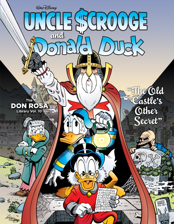 don rosa 10 - cover