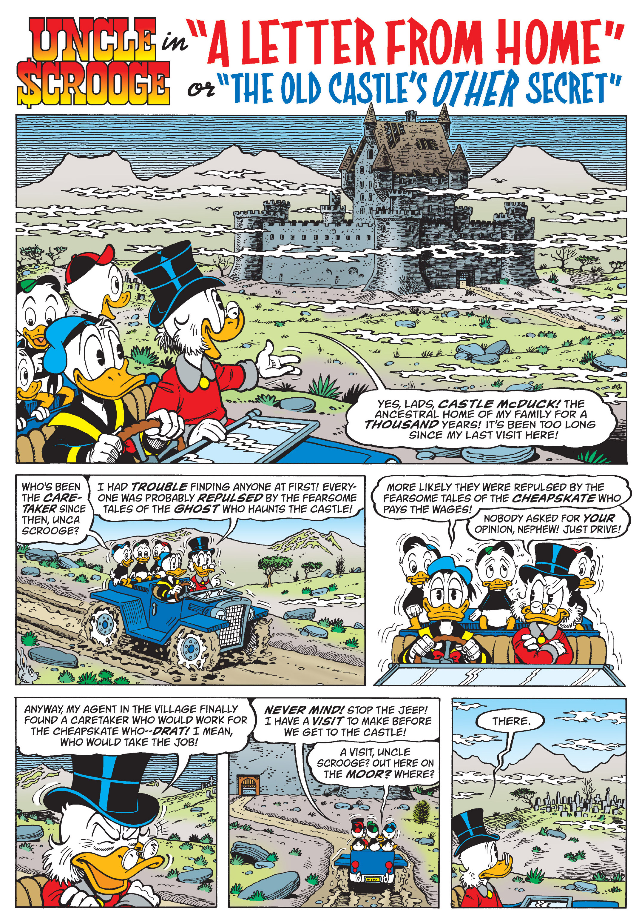 don rosa 10 - old castle