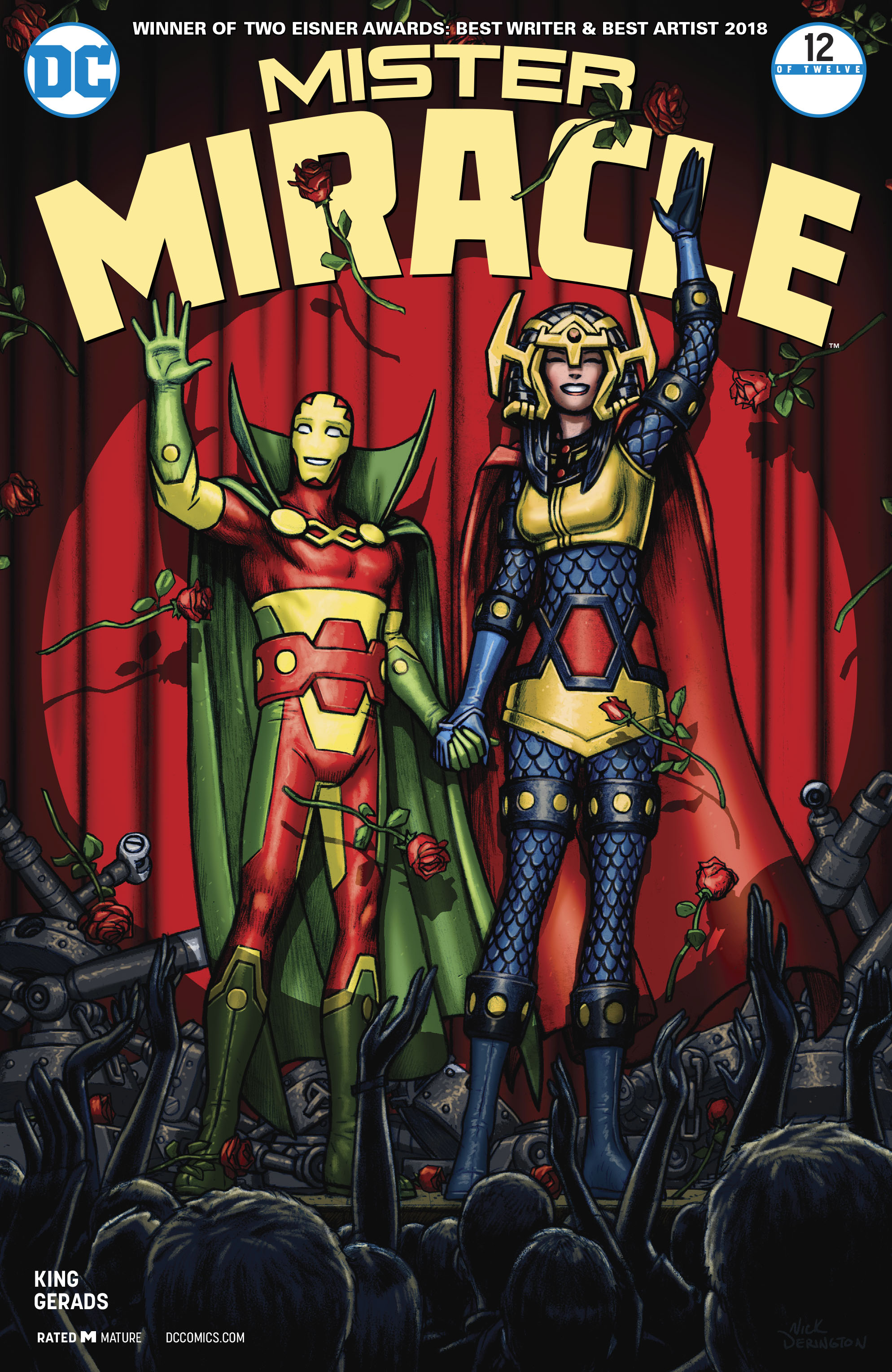 mister miracle 12 - cover