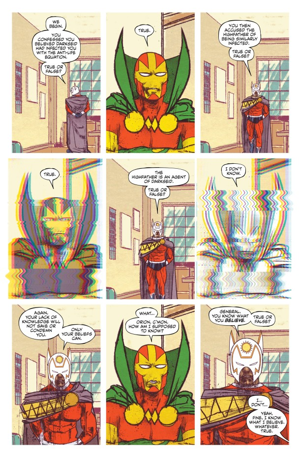 mister miracle - glitch